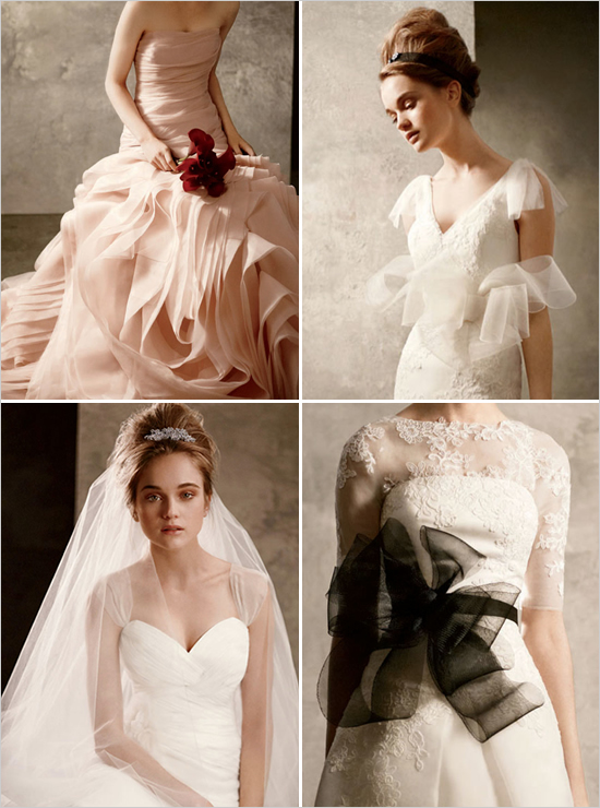 White by vera wang couture makeup blog makeup artist for Cheap wedding dresses in orange county
