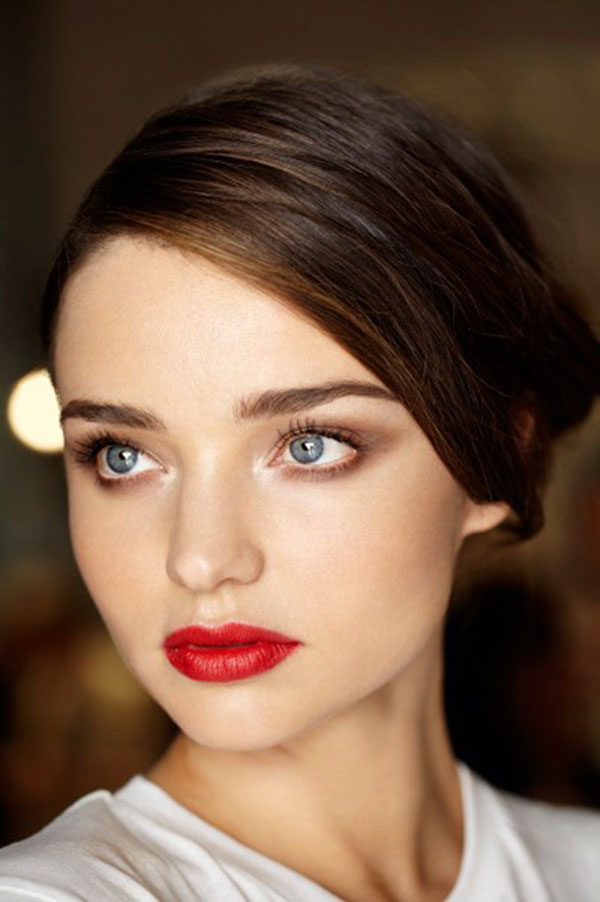 lip to the Red: create miranda natural red perfect Perfectly look kerr makeup How