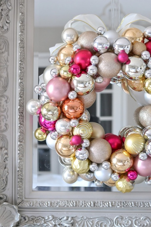 ornament wreath ideas 1