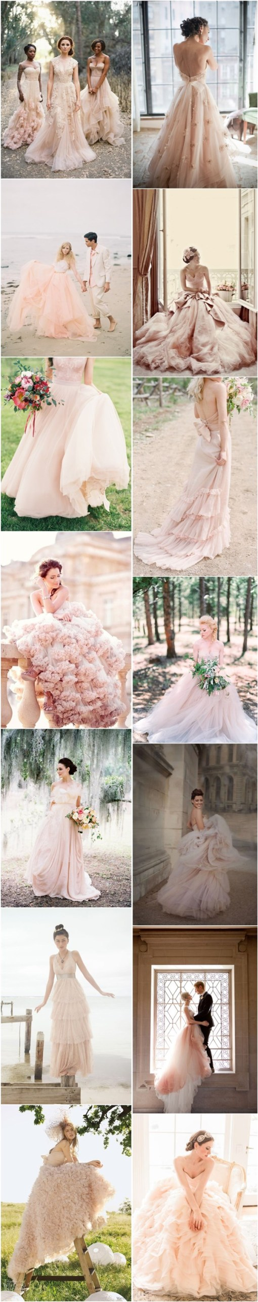 blush-pink-peach-wedding-dresses